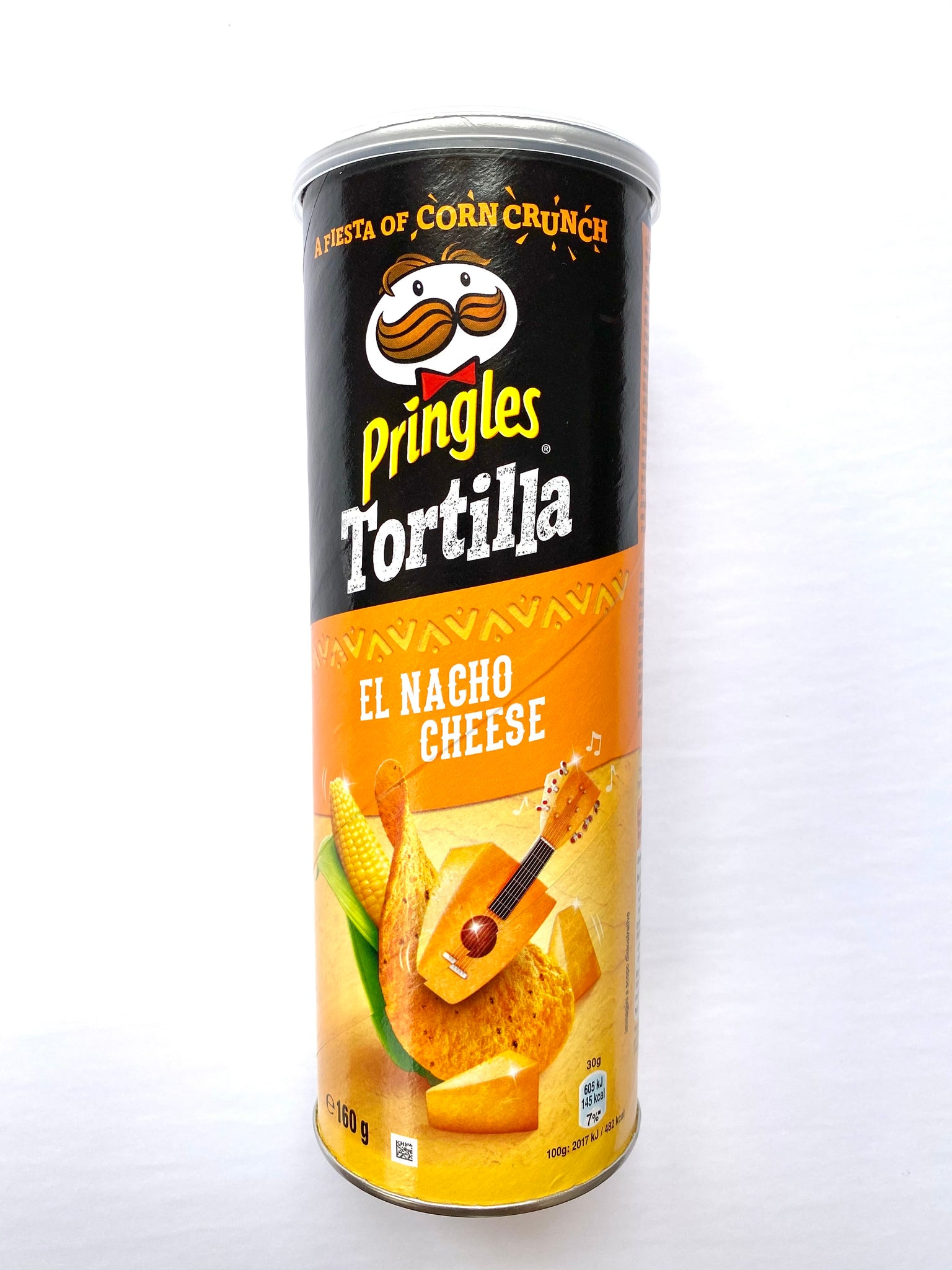 Pringles Tortilla El Nacho Cheese (UK)
