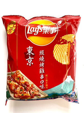 Lay's Grilled Chicken Skewer (Taiwan)