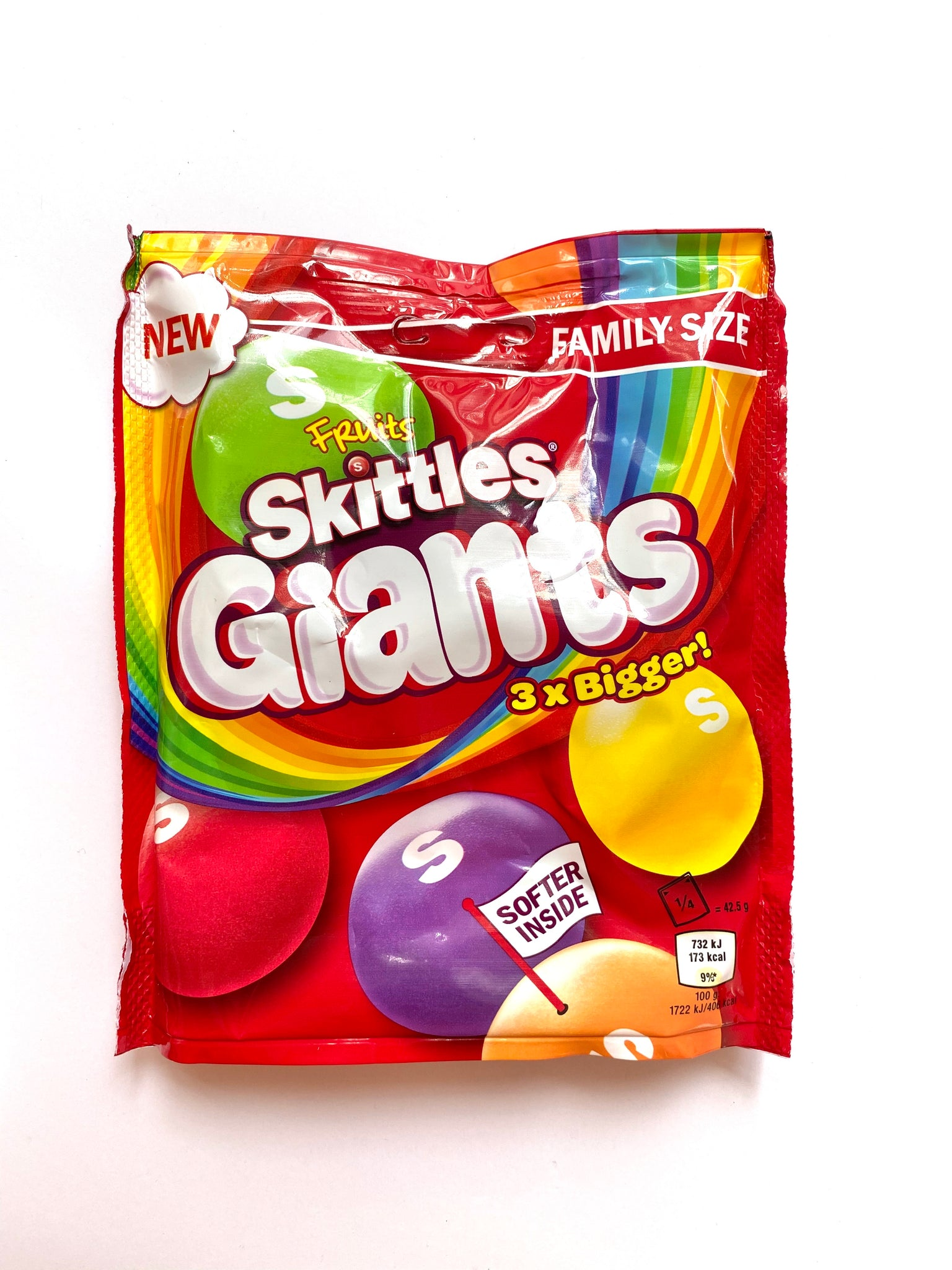 Skittles Giants - Sharing Pouch (UK)