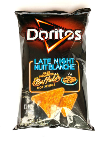Doritos Late Night Buffalo Hot Wings (Canada)