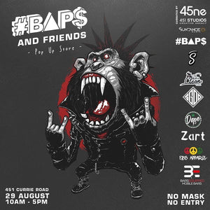#BAP$ AND FRIENDS - Pop Up Store -