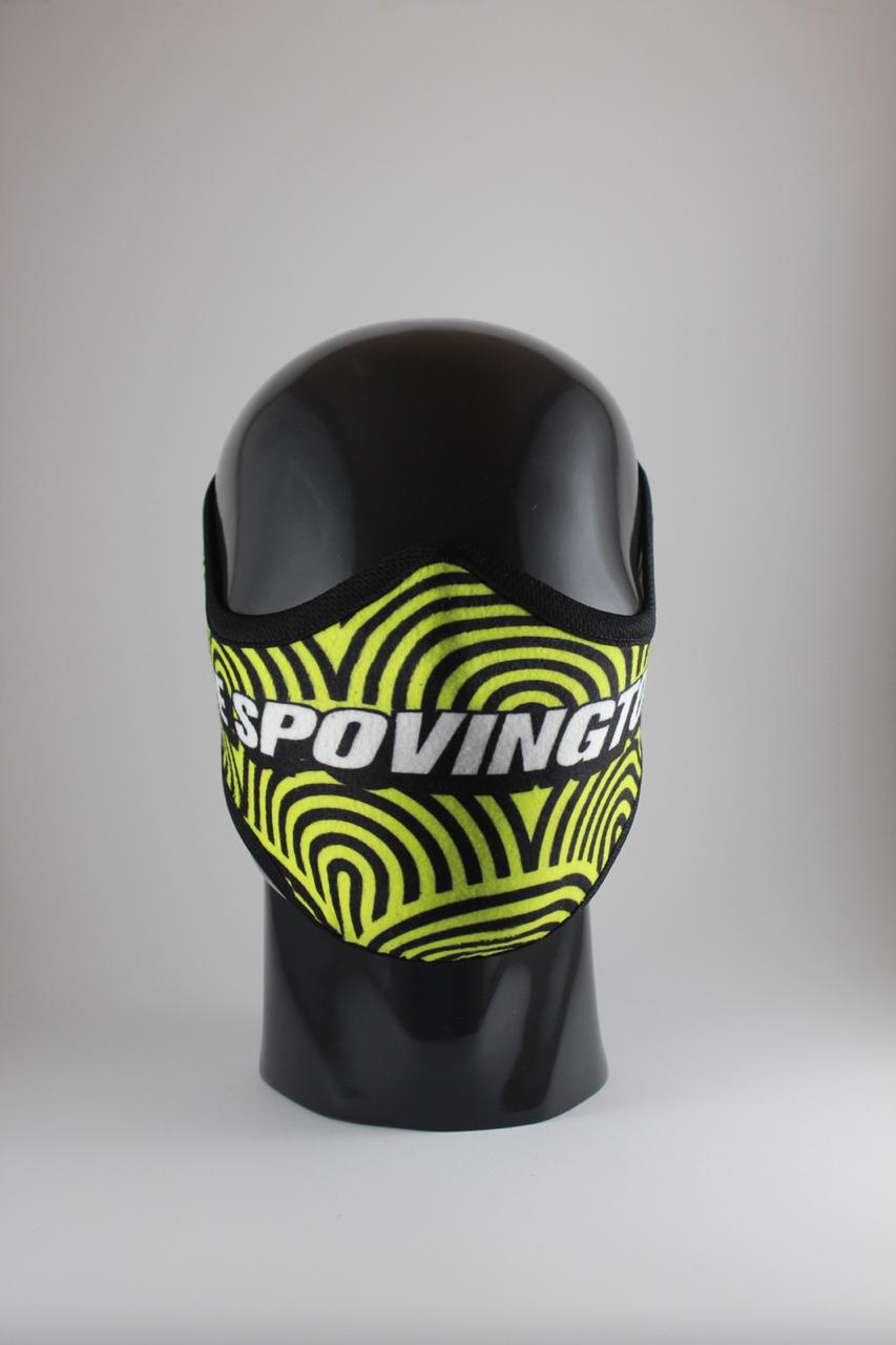 THE SPOVINGTONS Fudumala mask - Boomslang