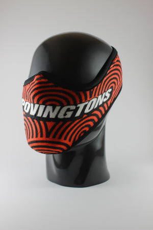 THE SPOVINGTONS Fudumala mask - Oranja