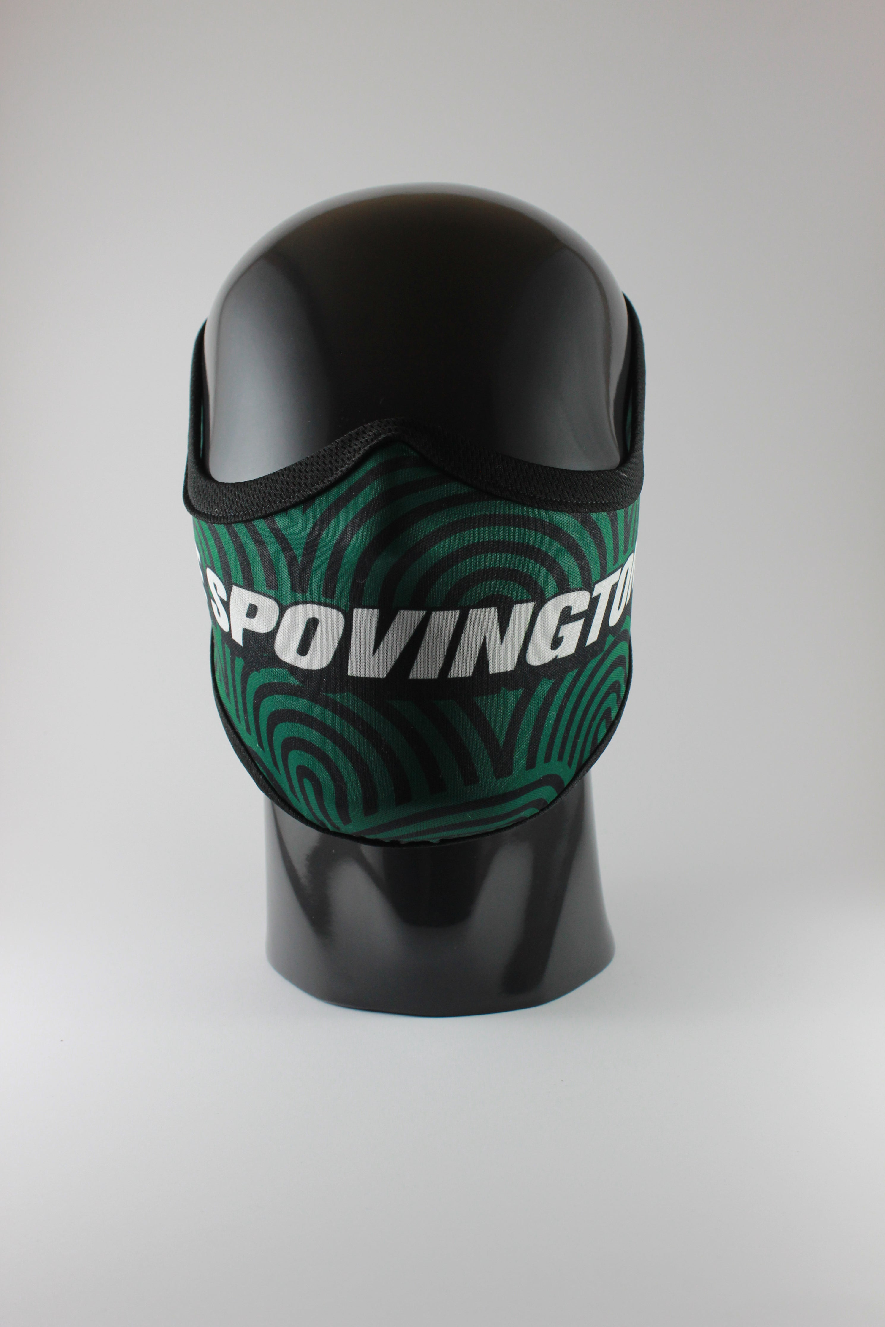 THE SPOVINGTONS Fudumala mask - OG Green