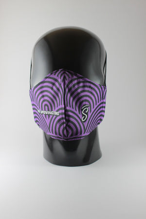 THE SPOVINGTONS mask - Ndoni Purp