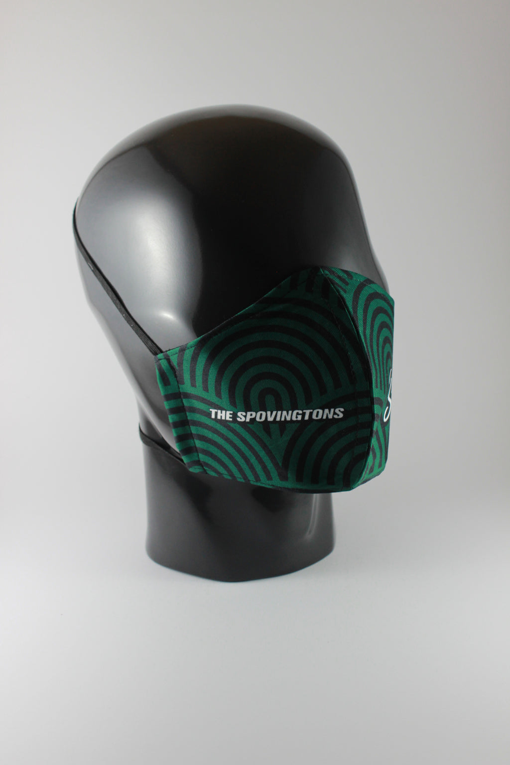 THE SPOVINGTONS mask - OG Green