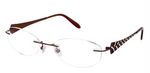FANCY Jimmy Crystal New York Eyeglass frame