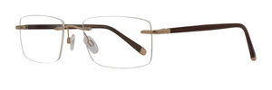Light Design LD1021 Rimless Eyeglass Frame