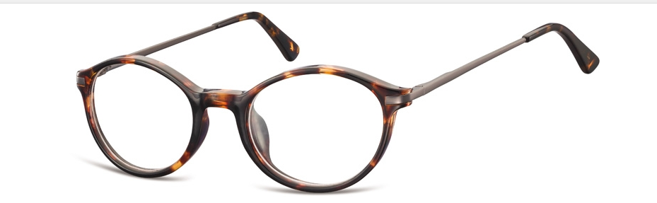 Cool Oval Tortoise Eyeglass Frame 50-20-140