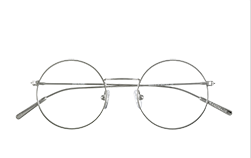 Epos Baio Round Eyeglass Frame- Final Sale No returns - Special Order from Italy
