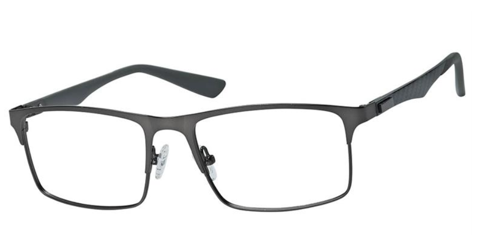 Haggar Active Stainless Steel Eyeglass Frame HAC108