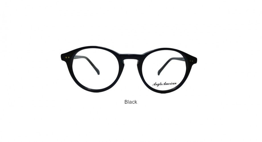 Hand Made Barrister Liberty Eyeglasses (Anglo American AA406) (Colors Vary with every shipment)