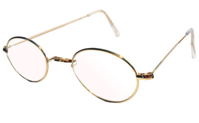 British Saddle Oval Eyeglasses (Not available at this time)