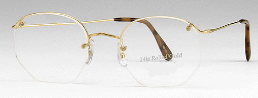 Rimway 14K Gold Filled Eyeglasses (Sold and discontinued)