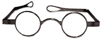 Funky Little Round Eyeglasses 30mm (GL791)