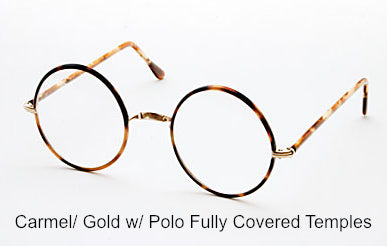 Perfectly Round Eyeglasses without Nose Pads (Sold out)
