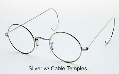 Perfectly Round Eyeglasses with Nose Pads (Sold out and discontinued) No longer carry