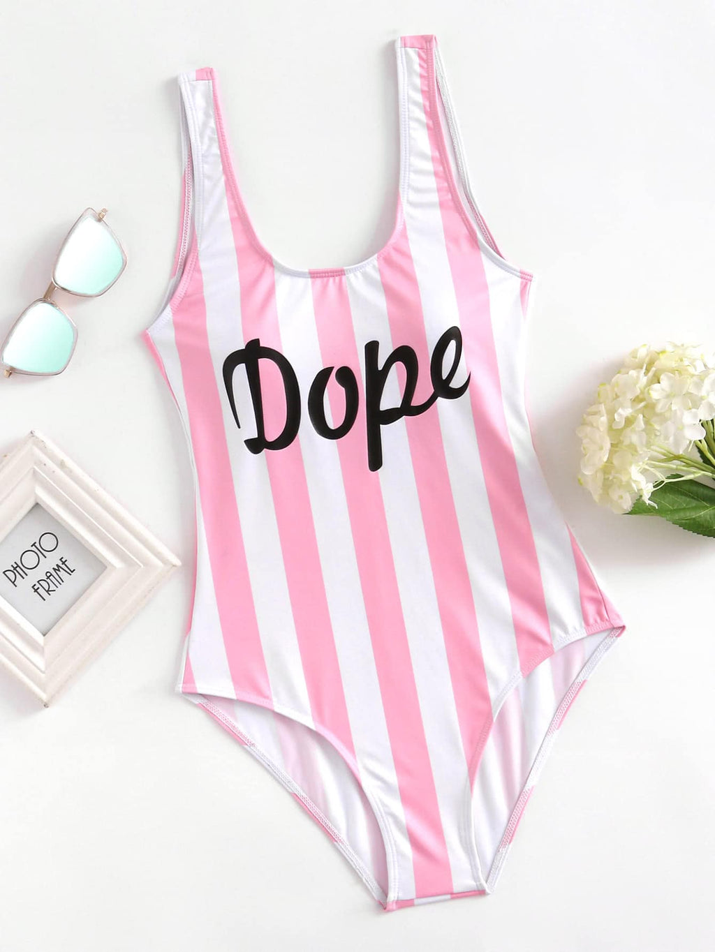 Dope One Piece Swimsuit