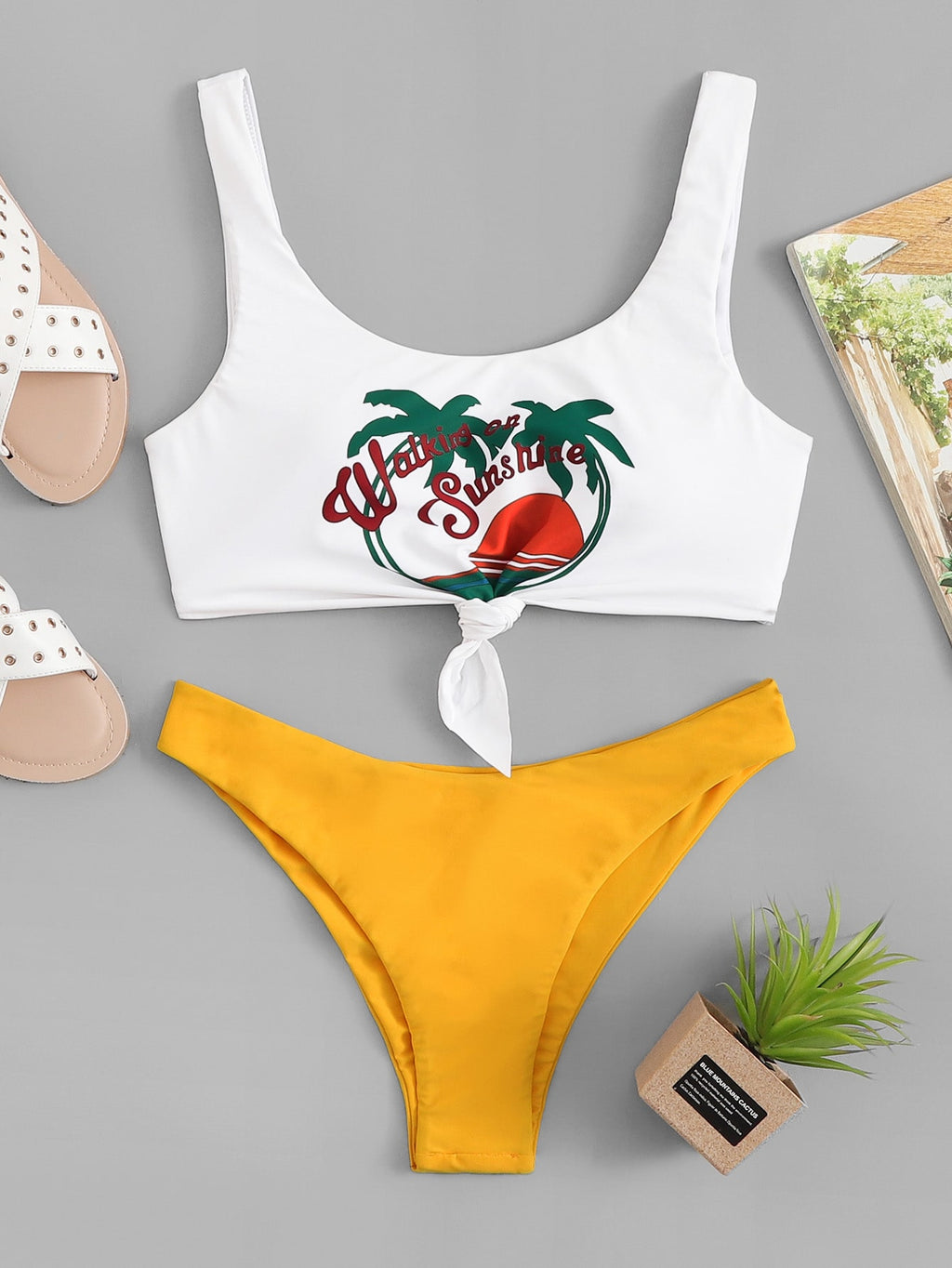 Tropical Mix and Match Bikini