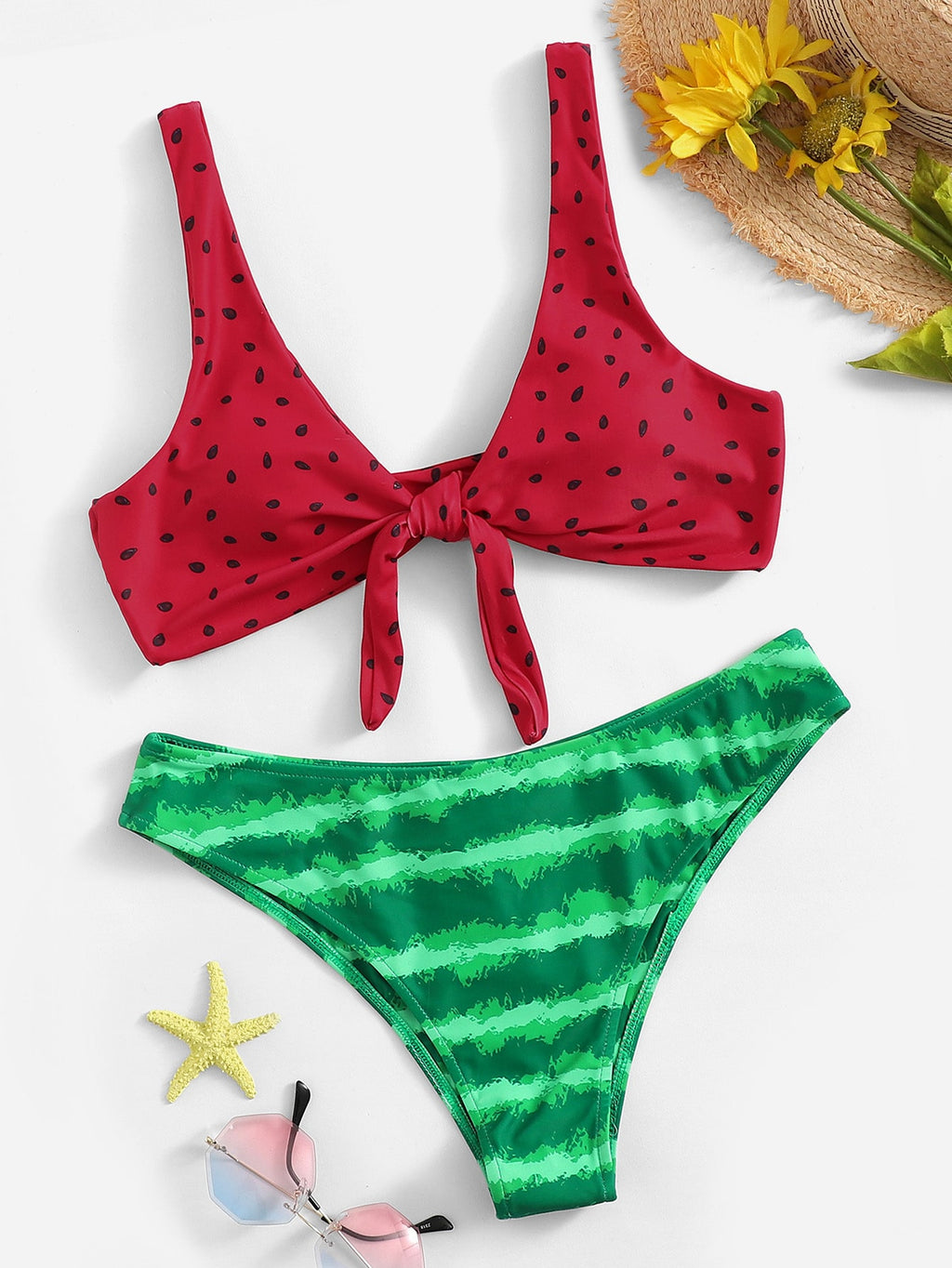 Water My Melon Bikini Set