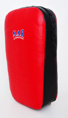 MAR-202D | Children's Red+Black Synthetic Leather Striking Pad