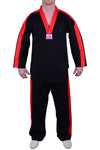 MAR-051 | Black Freestyle Uniform w/ Red Outline