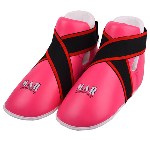 MAR-159 | Pink Semi Contact Foot Protector for Women