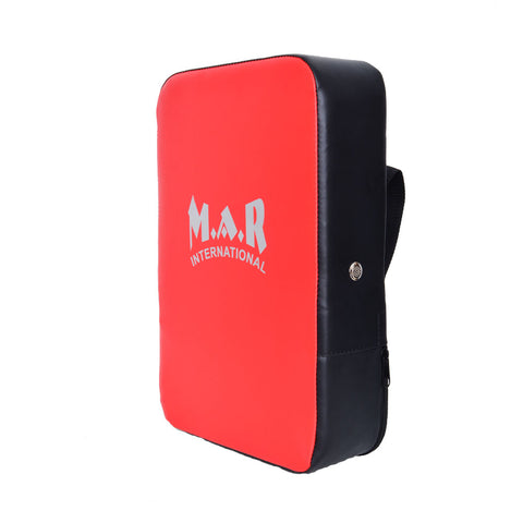 MAR-208A | Red+Black Heavy Duty Square Striking Shield