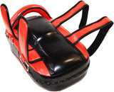 MAR-202C | Red+Black Synthetic Leather Striking Pad - Quality Martial Arts