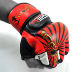 MAR-405 | Red IPPON MMA Gloves - quality-martial-arts