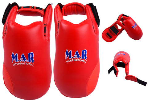 MAR-152A | Elite Foot Protector for National Karate Competitions
