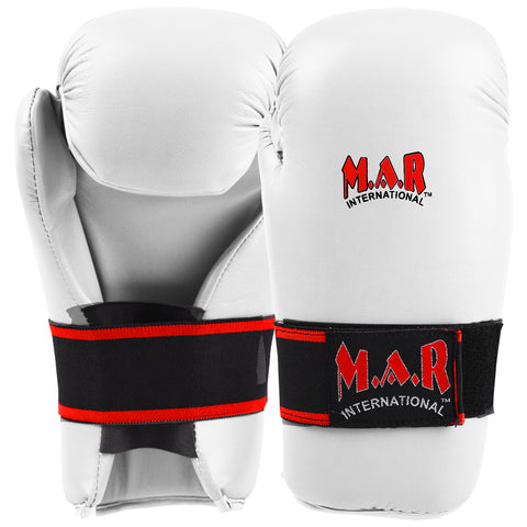 MAR-144D | White Semi-Contact Pointer's Gloves