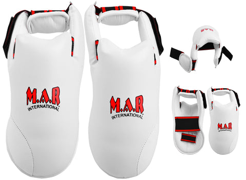 MAR-152D | Elite Foot Protector for National Karate Competitions