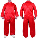 MAR-047A | Martial Arts Kung-Fu Uniform (Red)