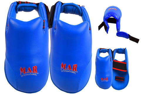 MAR-152C | Elite Foot Protector for National Karate Competitions