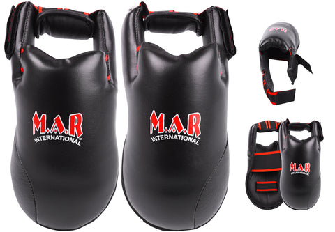MAR-152B | Elite Foot Protector for National Karate Competitions