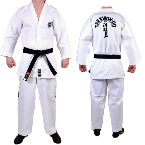 MAR-039 | White ITF Approved Taekwondo Student Uniform