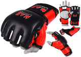 MAR-240 | Black+Red MMA Competition Gloves
