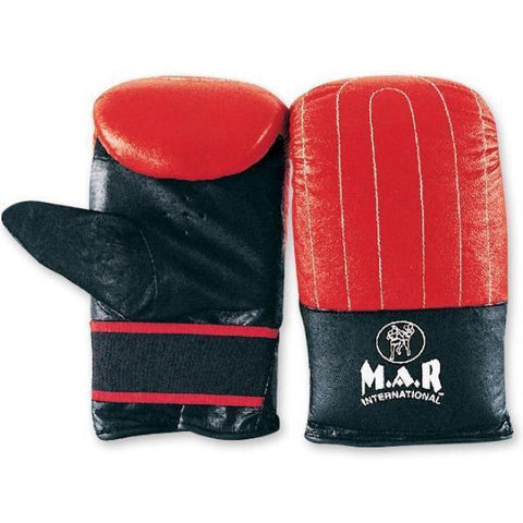 MAR-135 | Goat Leather Punching Mitt/Bag Gloves For Training - quality-martial-arts