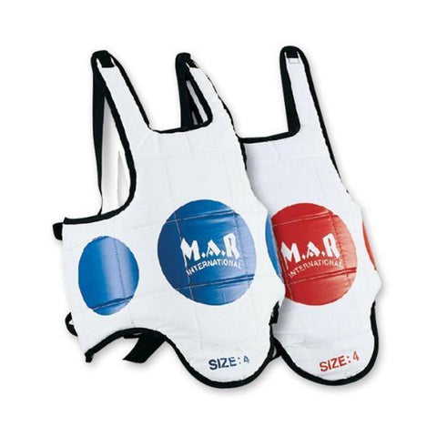 MAR-216 | Reversible Chest Guard with Scoring Zones - quality-martial-arts