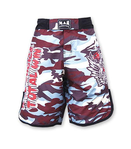 "MAR-245B | MMA Heavy Duty ""TOTAL WIN"" Designer Shorts - quality-martial-arts"