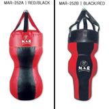 MAR-252 | Professional Body Bag Black/Red 4ft - quality-martial-arts
