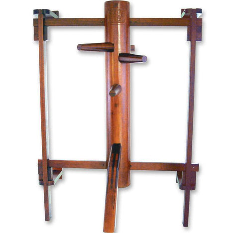 MAR-272 | Wing Chun Dummy w/ Back Support - quality-martial-arts