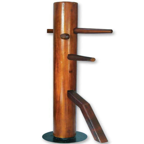 MAR-273A | Wooden Freestanding Spinning Wing Chun Dummy - quality-martial-arts
