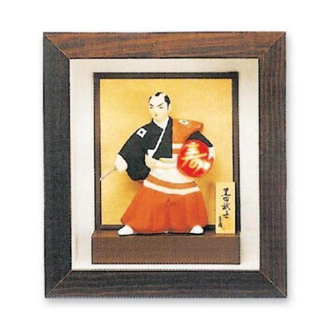 MAR-307 | Standing Alabaster Samurai Portrait - quality-martial-arts