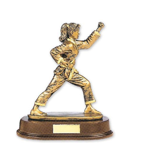 MAR-314 | Female Karate Trophy Award - quality-martial-arts