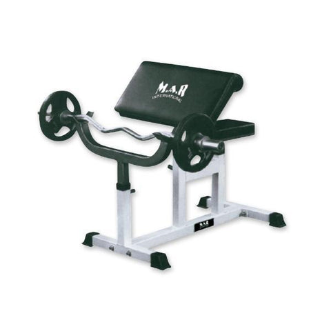 MAR-346 | Preacher Curl Bench - quality-martial-arts