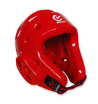 MAR-036A | WTF Approved Red Taekwondo Head Guard
