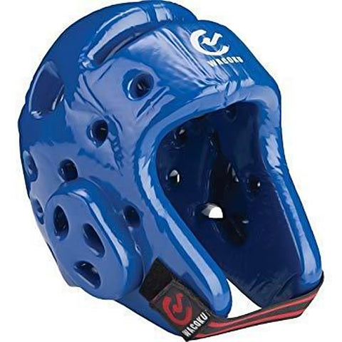 MAR-036B | WTF Approved Blue Taekwondo Head Guard