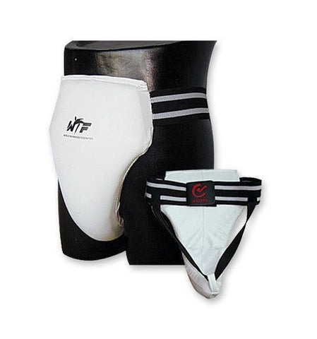MAR-037 | Unisex WTF Approved Taekwondo Groin Guard - quality-martial-arts